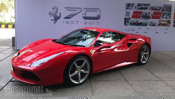 Ferrari celebrates 70 years anniversary in Mumbai