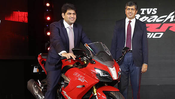 Interview: Sudarshan Venu, joint MD, TVS Motor Company on the importance of the TVS Apache RR 310