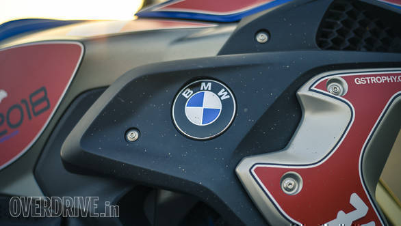 BMW R 1200 GS Rallye badge detail