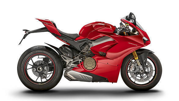 Ducati Panigale V4 S right side studio static