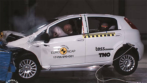 Euro NCAP Test: Fiat Punto scores the lowest at zero rating