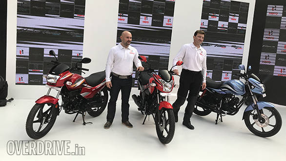 2018 Hero Super Splendor, Passion Pro and Passion X Pro showcased