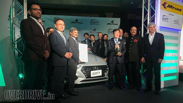Hyundai Verna wins the ICOTY (Indian Car Of The Year) 2018