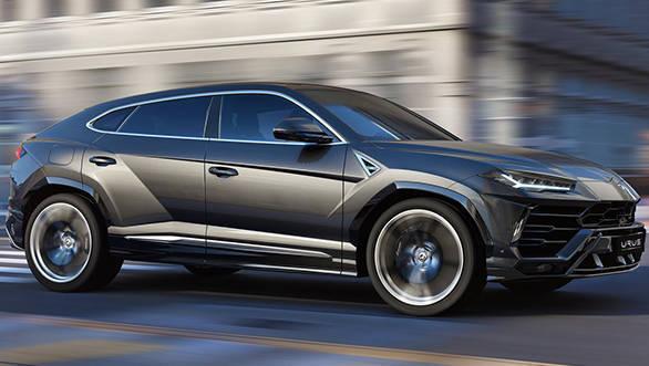 2018 Lamborghini Urus SUV unveiled, image gallery