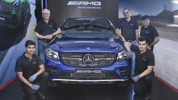 Mercedes-AMG to offer exclusive service experience to AMG customers in India