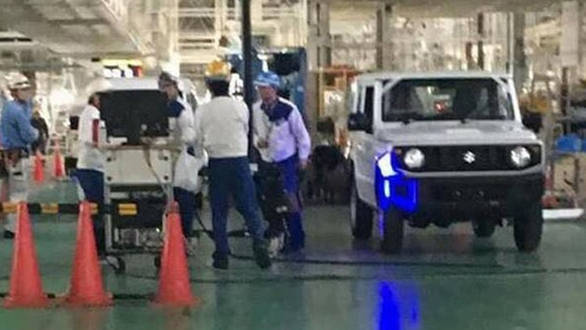 Spied: New-gen Suzuki Jimny SUV spotted on the production line