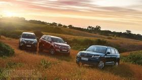 Comparison: Skoda Kodiaq vs Ford Endeavour vs Toyota Fortuner