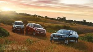 Comparison: Skoda Kodiaq vs Ford Endeavour vs Toyota Fortuner