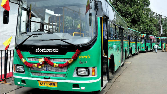 50 Tata Motor buses delivered to Bengaluru Metropolitan Transport Corpn.