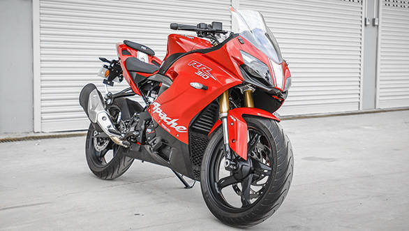 TVS Apache RR 310 launched in India: Image gallery