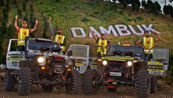 Gerrari Off-roaders win 2017 JK Tyre Orange 4x4 Fury