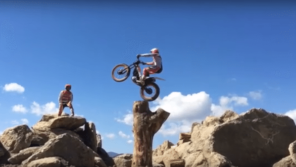 Video worth watching: 22-time World Motorcycle Trials champion Toni Bou in action
