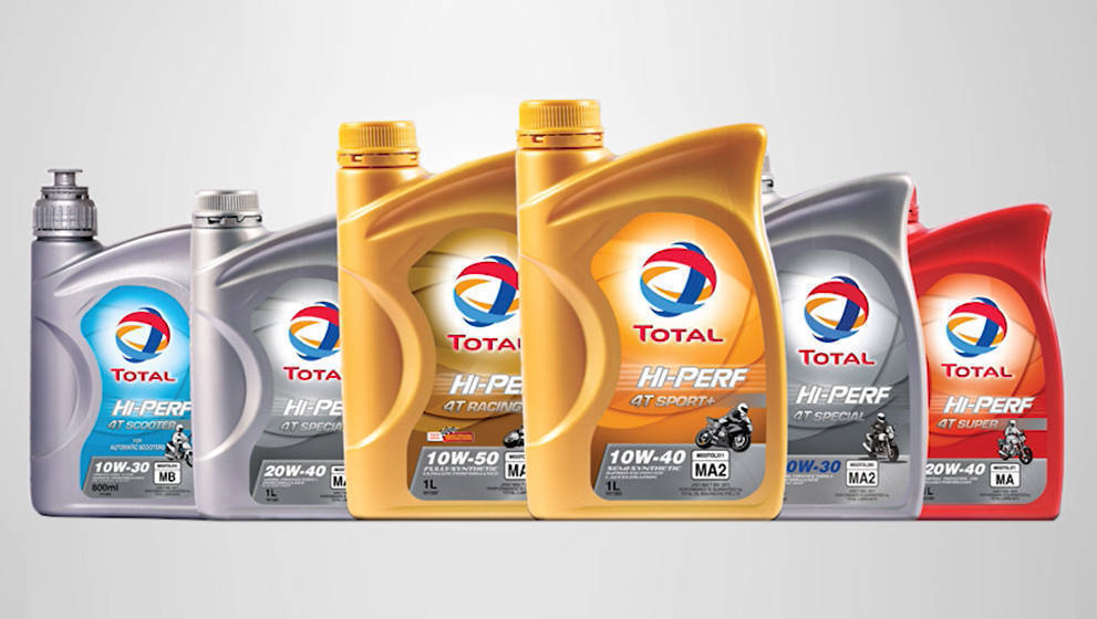 Total Hi-Perf two-wheeler engine oil launched in India