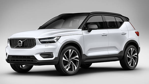 Volvo XC40 SUV bookings open in India, launch in June 2018
