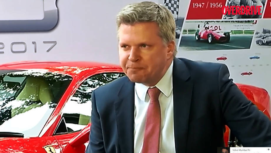 In conversation with Dieter Knechtel, CEO, Far East and Middle East, Ferrari