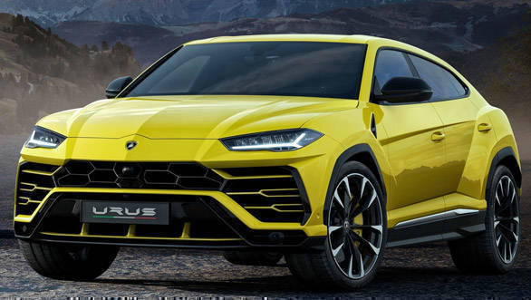 Lamborghini Officially Reveals the Urus SUV