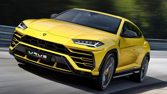 Rs 3 Crore Lamborghini Urus SUV to be launched in India on January 11, 2018
