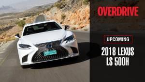 Upcoming: 2018 Lexus LS 500h