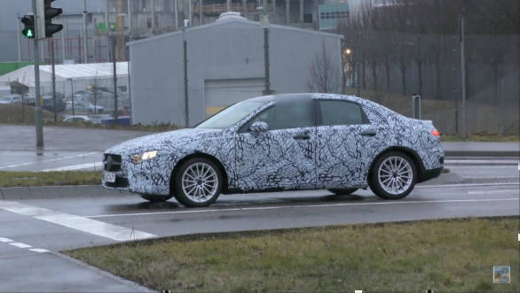 Spied: 2018 Mercedes-Benz A-Class sedan