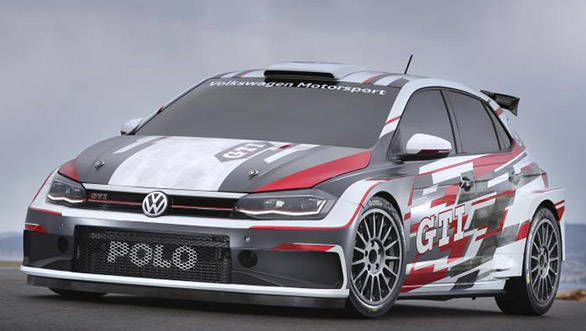 272PS Volkswagen Polo GTI R5 rally car showcased