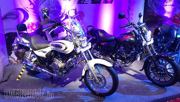 2018 Bajaj Avenger Street 220 and Cruise 220 showcased