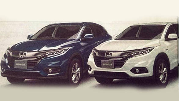 2018 Honda HR-V facelift image leaked before official reveal