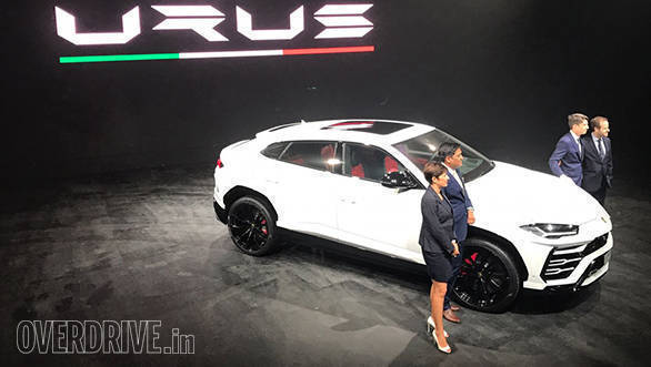 2018 Lamborghini Urus launched in India at Rs 3 crore