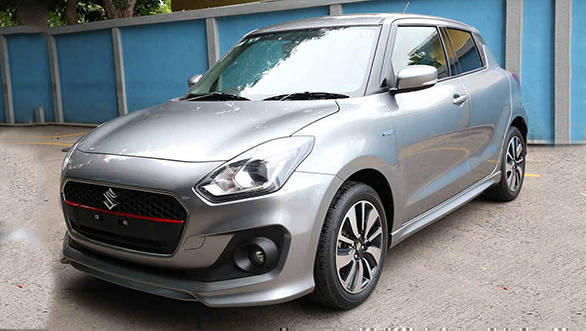 Auto Expo 2018: New Maruti Suzuki Swift RS spotted in India