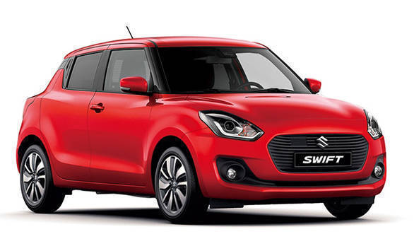 2018 Maruti Suzuki Swift has an award-winning design