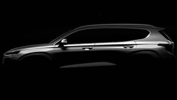2018 Geneva Motor Show: New-gen Hyundai Santa Fe SUV teased