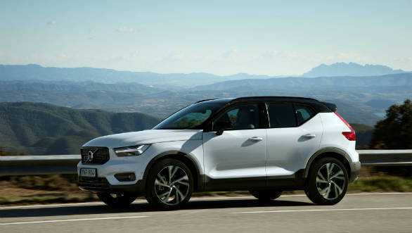 India-bound 2018 Volvo XC40 first drive review