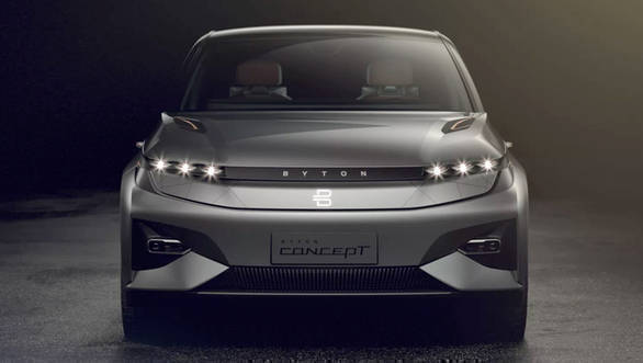 Byton introduces first drivable concept auto