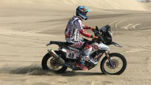 The complete CS Santosh update after Stage 3 of Dakar 2018