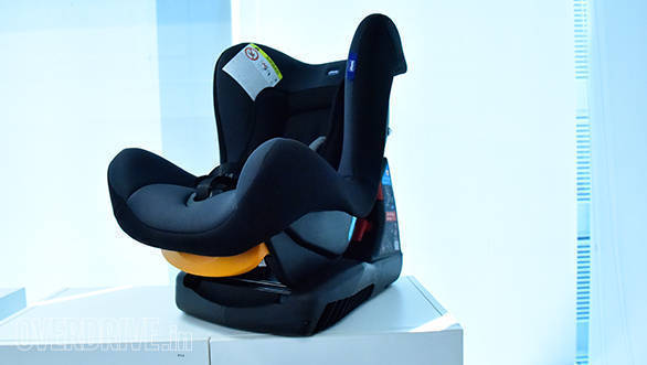 On Test At OVERDRIVE Chicco Cosmos Car Seat