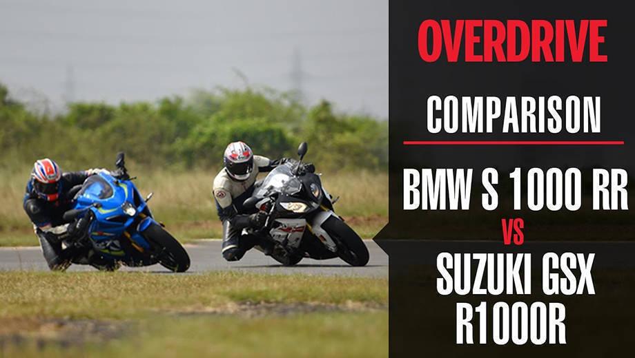 Comparison: 2017 BMW S 1000 RR VS 2017 Suzuki GSX-R1000RR