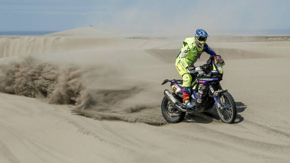 Dakar 2018: Sherco TVS rider Joan Pedrero Garcia ends 11th overall
