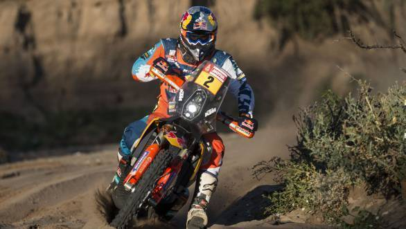 Dakar 2018: Walkner and Sainz maintain overall lead after Stage 13