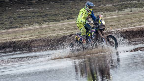 Dakar 2018: Sherco TVS rider Joan Pedrero Garcia ranked 14th overall after Stage 11
