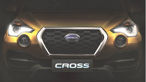 India-bound Datsun Cross to debut on January 18, 2018