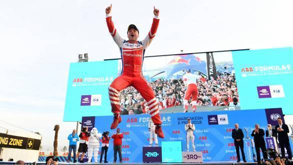 Formula E: Marrakesh ePrix victory puts Felix Rosenqvist on top of the championship standings