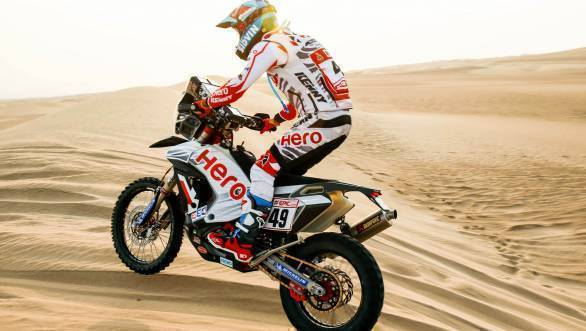 Dakar 2018: Hero MotoSports rider CS Santosh finishes 37th in Stage 6