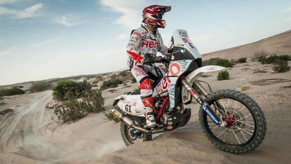 Dakar 2018: Oriol Mena puts Hero MotoSports 20th overall after Stage 6