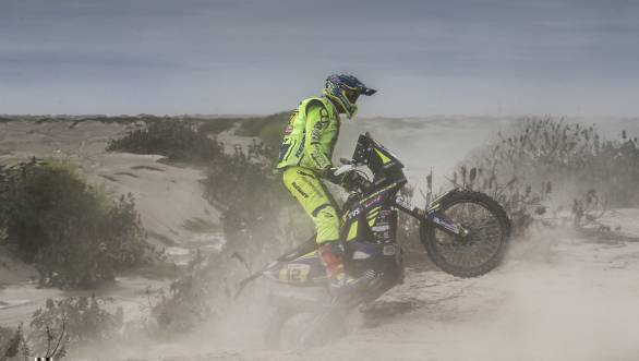 Dakar 2018: Sherco TVS rider Joan Pedrero ranked 17th overall after Stage 10