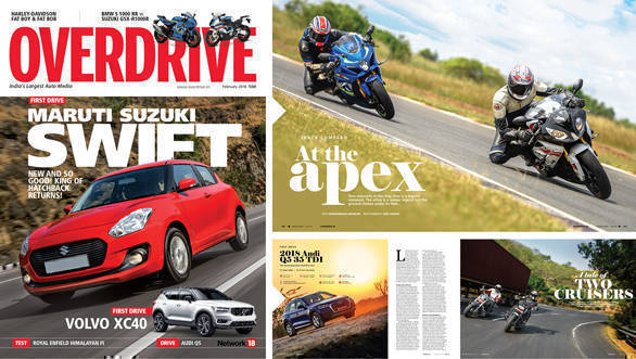 The February 2018 issue of OVERDRIVE is out, rocking, and selling out fast!