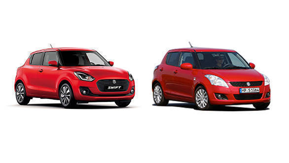 Comparison: New Maruti Suzuki Swift vs outgoing Maruti Suzuki Swift