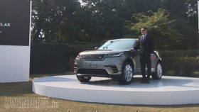Range Rover Velar launched India at Rs 78.83 lakh