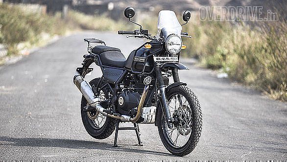 2018 royal enfield himalayan fi road test review overdrive. Black Bedroom Furniture Sets. Home Design Ideas