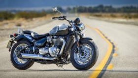 Triumph Bonneville Speedmaster to launch in India on February 27, 2018