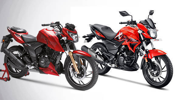 Spec comparison: Hero Xtreme 200R vs TVS Apache RTR 200 4V