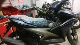 Yamaha Aerox 155 scooter with 15PS spied in India